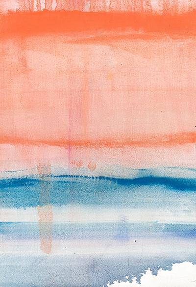 36x54 Shore Thing at Sunset - Susan Stone