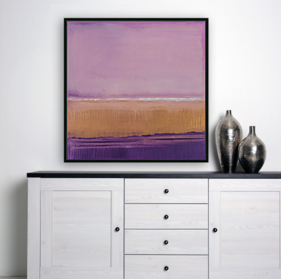 Marina floating frame - abstract fine art print