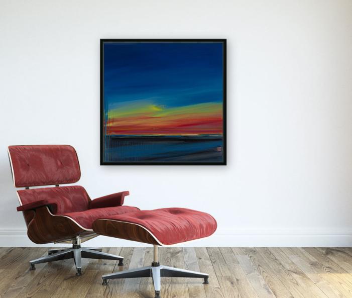 Torrey Pines Framed