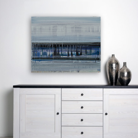 City by the Bay - gallery wrap